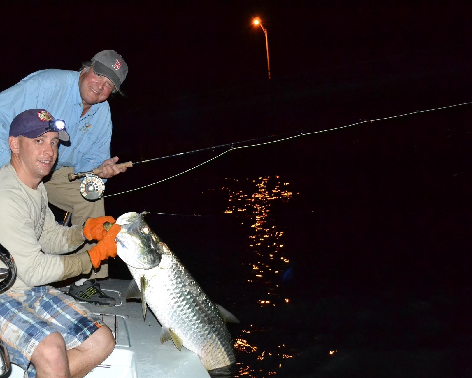 Night time tarpon fishing in islamorada firefly charters for Islamorada tarpon fishing