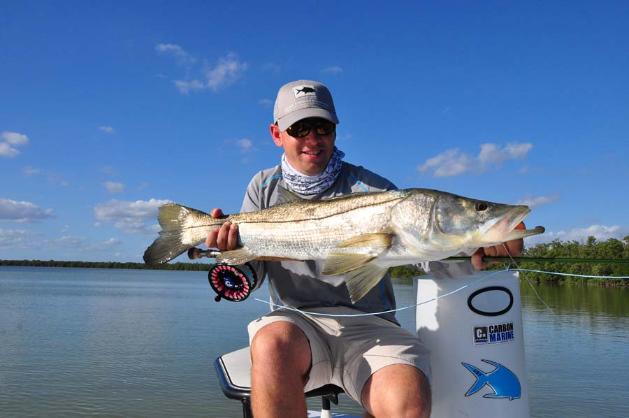 Snook firefly charters for Florida fishing vacations